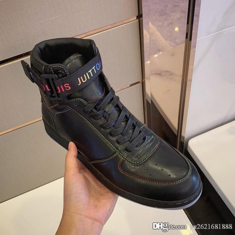 e7faa23a Compre Botas Y Botines De 2019 Nuevos Deportes Para Hombre. Zapatos Planos  E Informales De Alta Calidad. Todo El Paquete Del LOGO De Calidad Original.