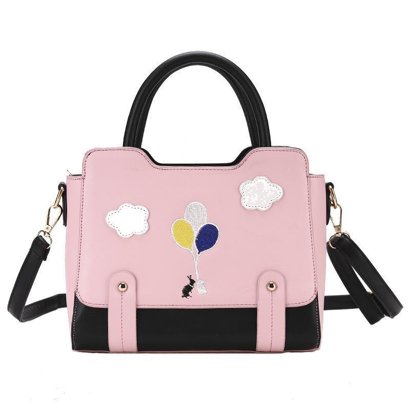 3b5faf4e964 Designer Handbags Women Bags New Female Bag PU Leather Cartoon Cute Small  Square Bag Wild Shoulder Bags Popular Messenger Ladies Handbag Womens Bags  ...