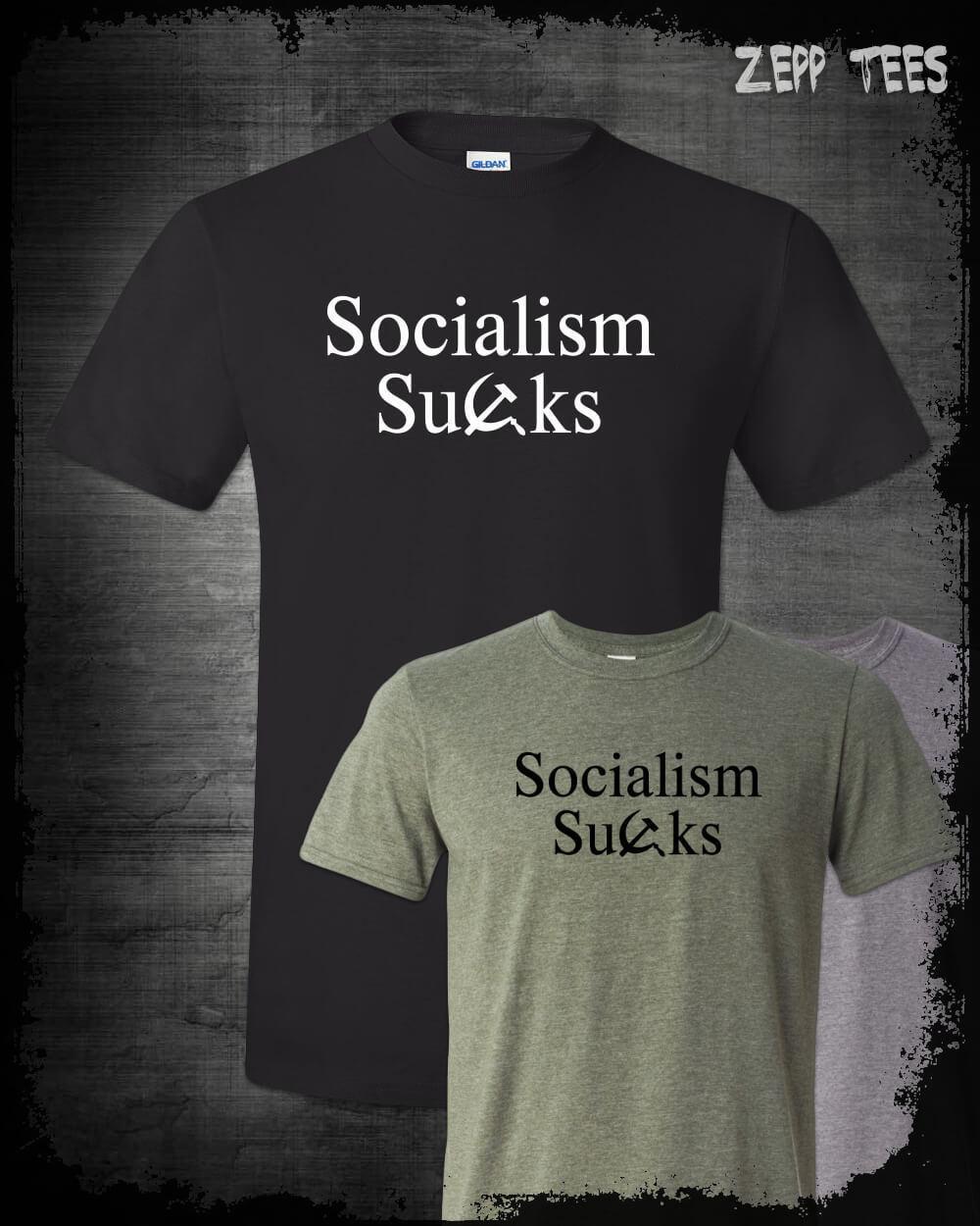 03230444 Socialism Sucks T Shirt Commie Scum Socialist Bernie Funny Libertarian  Patriot Funny Unisex Casual Tshirt Top Cool Tee Shirts Cool Tees From  Happyjapanuk, ...