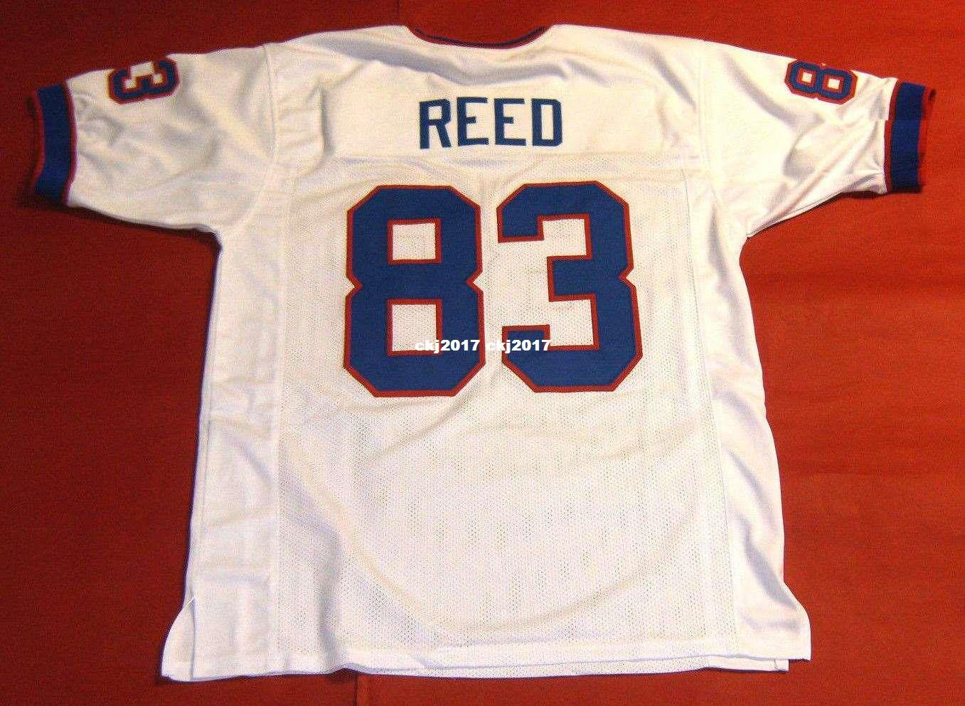 new arrival 60385 01fa4 Cheap retro #86 ANDRE REED CUSTOM MITCHELL & NESS Jersey LAST ONE white  Mens Stitching High-end Size S-5XL Football Jerseys College NCAA