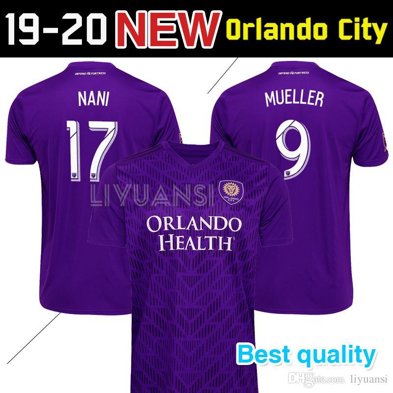 8de4457b1af 2019 New 2019 2020 MLS Futbol Club Orlando City Top Quality Home Soccer  Jersey 19 20 Orlando City Home Men Jerseys Uniforms Football Shirts From  Liyuansi, ...