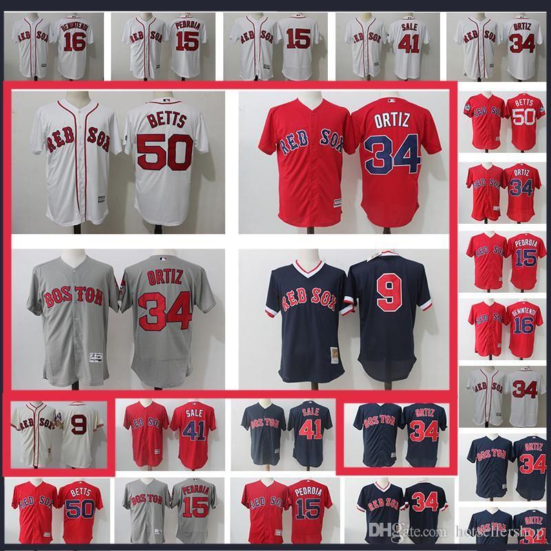 d5fc77dcd Boston Red Sox Ortiz 34 15 Dustin Pedroia 16 Andrew Benintendi 50 ...
