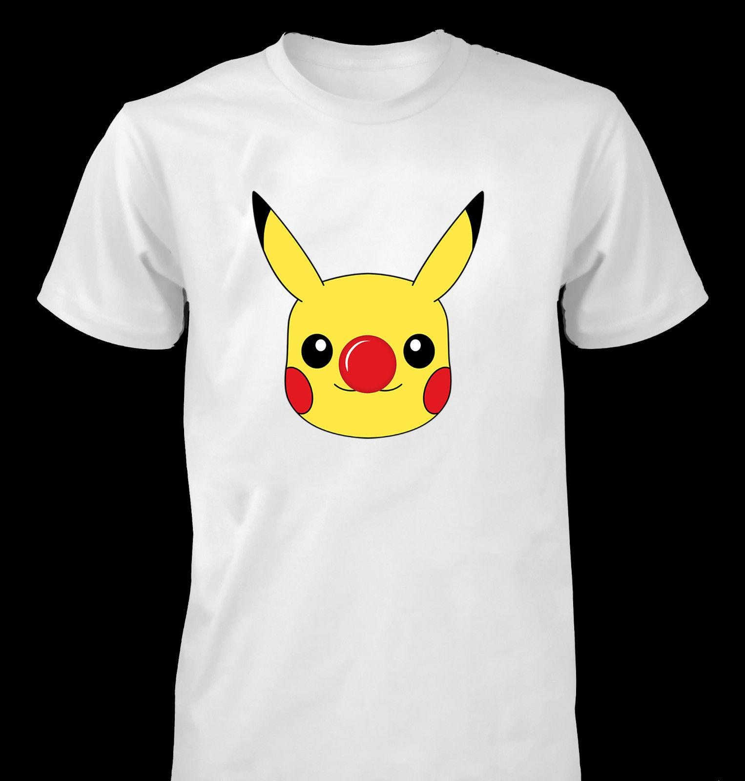 42533293 RED NOSE DAY Pikachu COMIC RELIEF KIDS BOYS MEN WOMEN T SHIRT Funny Unisex  Casual Tshirt Top Buy Tee Top T Shirt Sites From Redleaderclothing, ...