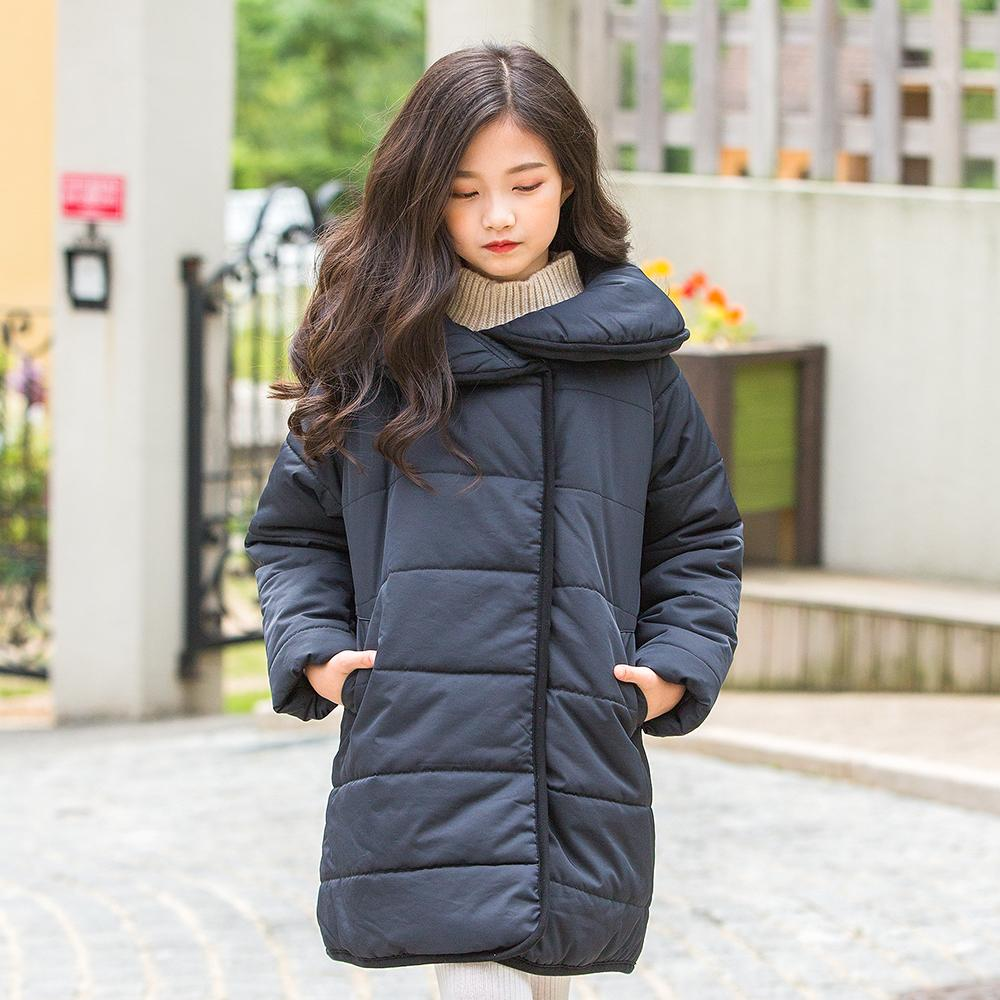 1b6afc747 B 18020 2019 New Fashion Winter Girl Casual Coat Thick Padded Cotton ...