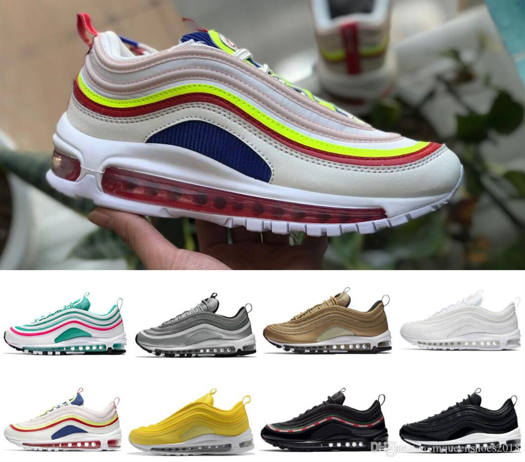 81d6da26f03 Hot Sale 97 OG Bullet Running Shoes Comfort Men Cushion Undefeated ...
