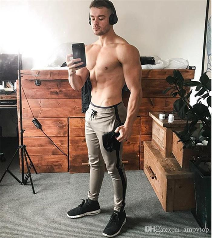 Mens Fashion Style Sporthosen einfarbig gestreiften Brief drucken Luxus Homme Kleidung Sommer Basketball Joggings Casual Apparel