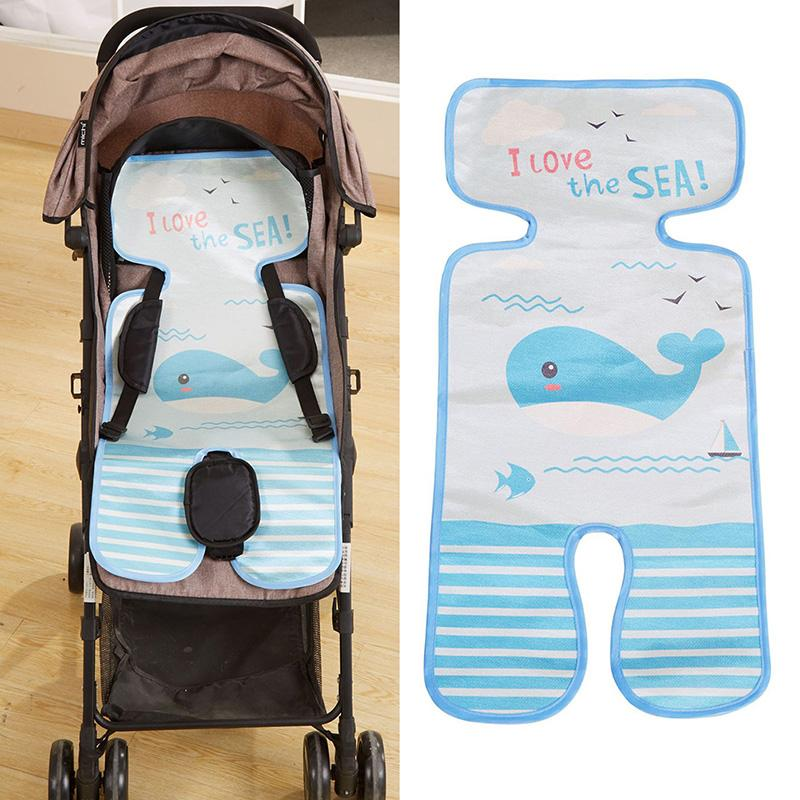 Baby Cool Liner Cushion Pushchair High Chair Pram Car Cute Mattresses Stroller Seat Carriages Seat Pad Cart Mat Accessories