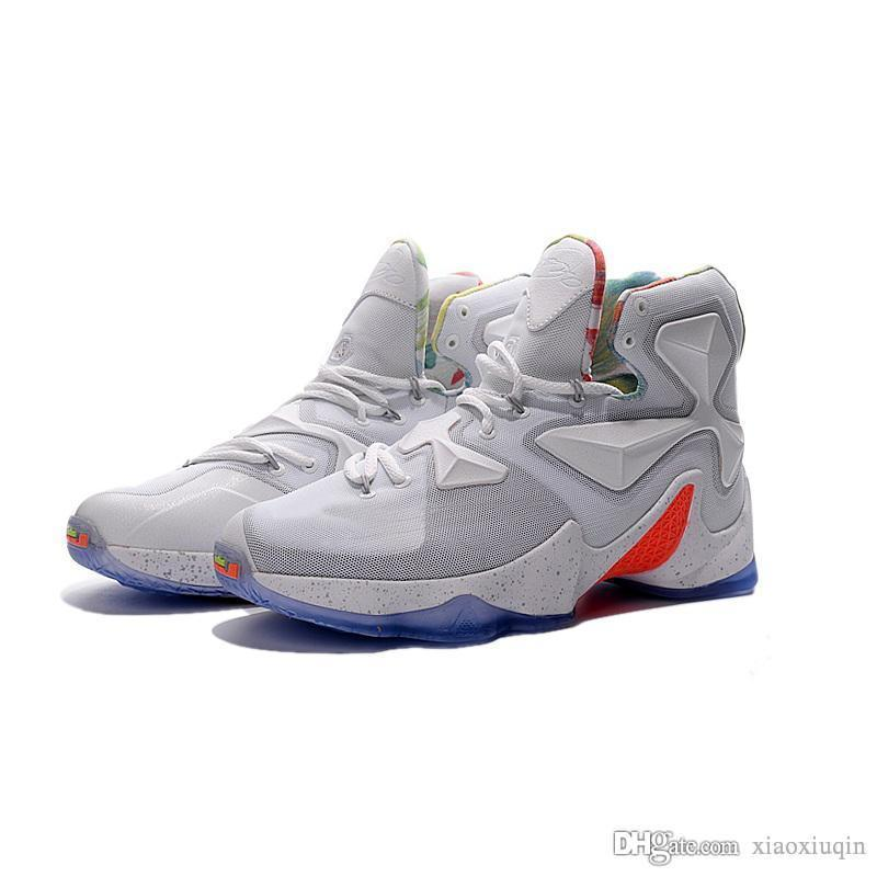 b3dee2d5eeb 2019 What The Lebron 13 Basketball Shoes Mens LMTD MVP Grey ...