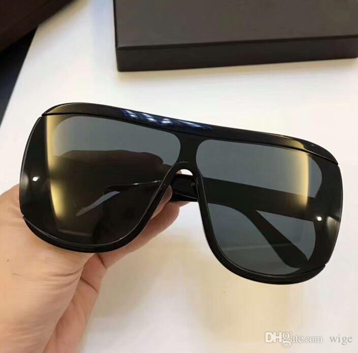 7ddcb7abff3 Oversized Shield Sunglasses 559 Porfirio 02 Shiny Black Gold FT0559 Glasses  Eyewear Unisex New With Box Sun Glasses Eyewear From Wige