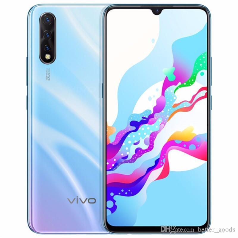 Original Vivo Z5 4G LTE Cell Phone 8GB RAM 128GB ROM Snapdragon 712 Octa  Core 6 38 Super AMOLED Full Screen 48MP Face ID Smart Mobile Phone