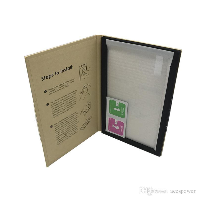 Protetor de tela de filme de vidro temperado para o filme protetor de vidro do interruptor de Nintend para Nintend Lite Ultra Slim Limpar o pacote de varejo