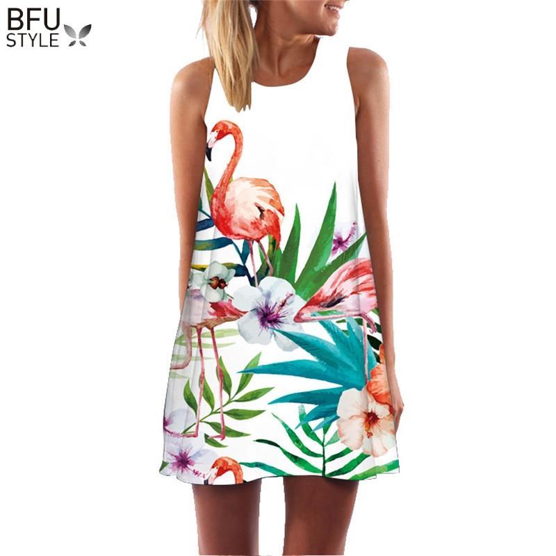 zomer jurk bloemenprint boho jurken voor vrouwen casual beach