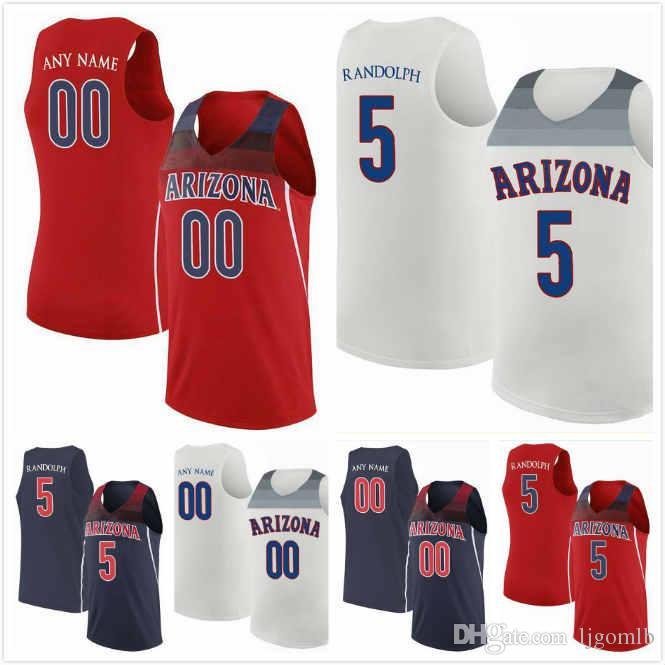 huge discount 61c57 f426d Justin Coleman Jersey 12 Brandon Williams 2 Devonaire Doutrive 1 Brandon  Randolph 5 Jake DesJardins 55 Arizona Wildcats 2019 Jerseys S-3XL