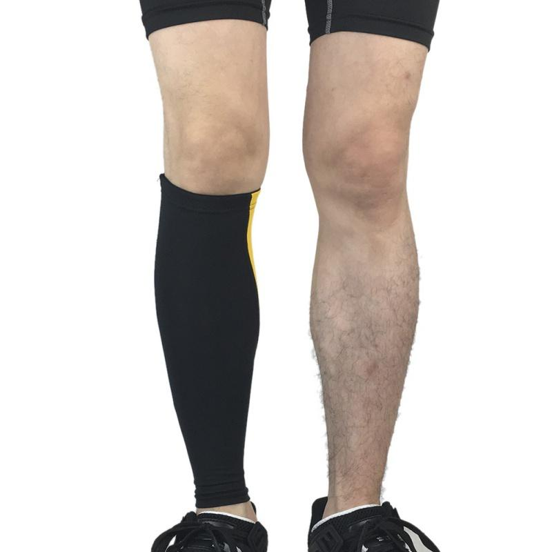 1 Pair High-elastic Sport Guard Knee Skin Leg Cover Leg Warmers Sun Protection