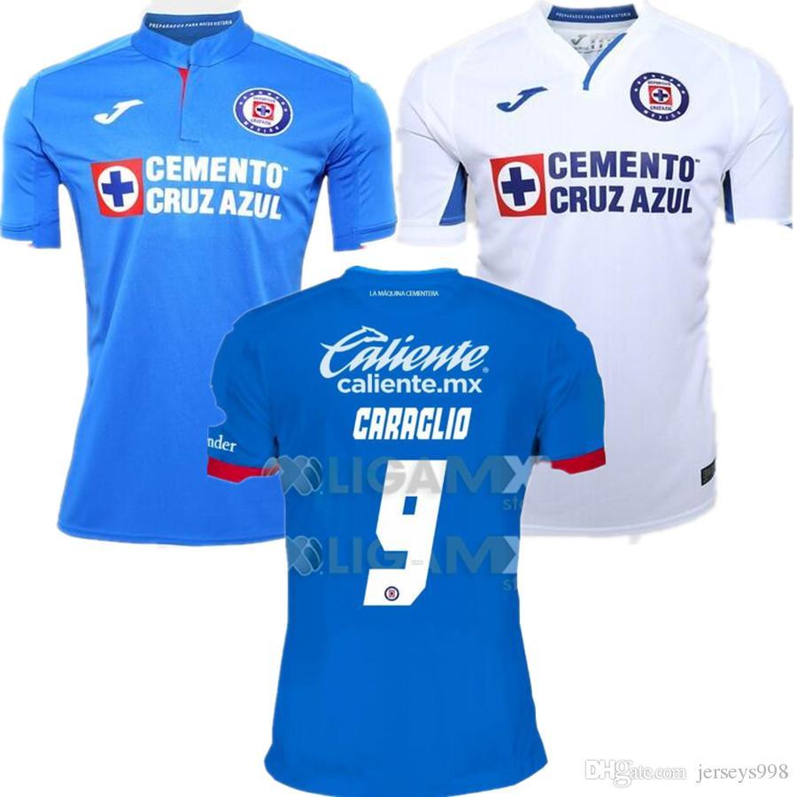2ca611e36ce 2019 New 2019 2020 Mexico Club Liga MX Cruz Azul Soccer Jersey 19 20 Home  Blue Away White Jerseys Football Shirt Camisetas De Futbol From Jerseys998,  ...