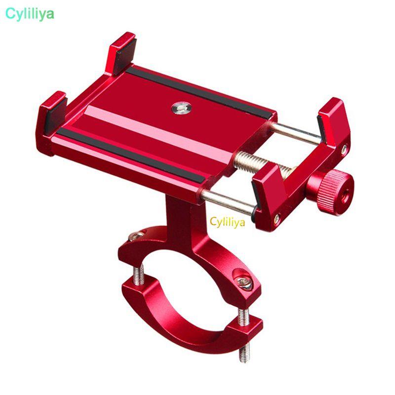 Universal Aluminum Bike Motorcycle Phone Stand For 5-15cm Wide Smartphone Support Bicycle Adjustable Handlebar Alloy Holder Mount Bracket