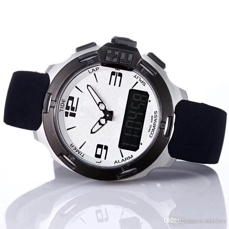 16db6afc2de9 Compre 2019 NUEVO Reloj Para Hombre Multifunción Digital Correa De Goma De  Moda Relojes De Pulsera De Marca De Diseño De Lujo Para Mujer Relojes  Deportivos ...