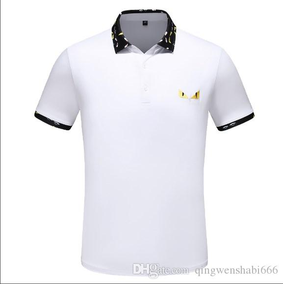395e6385 2019 2019 New Free Hot Sale Spring Luxury Italy Tee T Shirt Designer Polo  Shirts High Street Embroidery Garter Clothing Mens Brand Polo Shirt From ...
