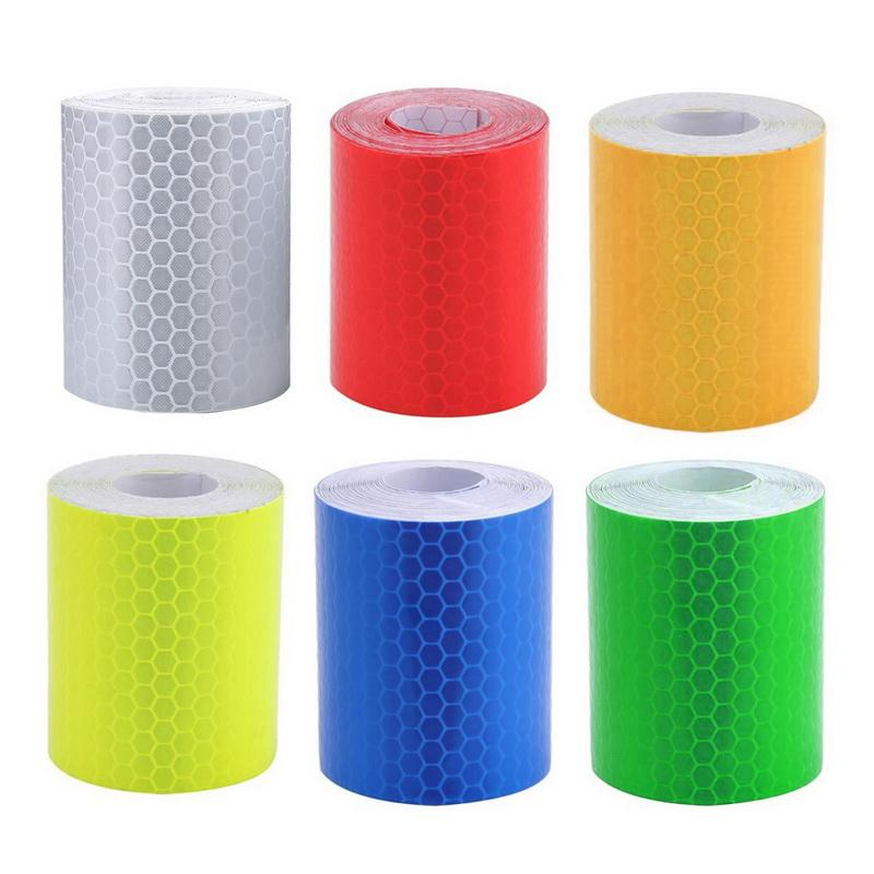 Safety Mark Reflective Tape Sticker Car Styling Self Adhesive Warning Tape Automobiles Motorcycle Reflective Strip 5cmx3m Back To Search Resultssecurity & Protection Roadway Safety