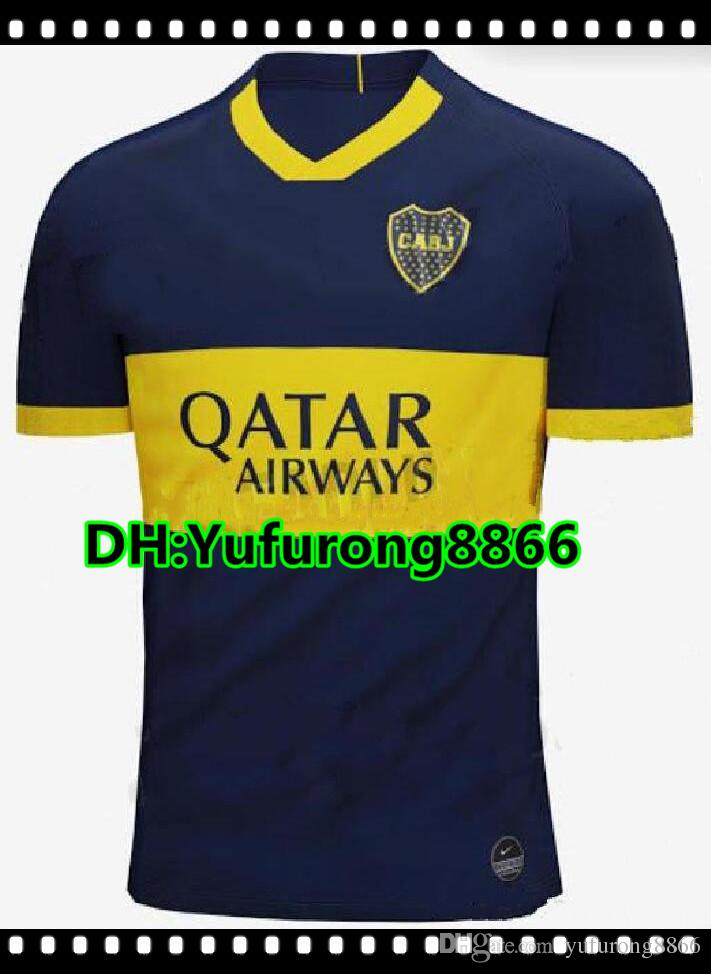52f63e009d3 2019 New 2019 2020 Boca Juniors Home Blue Soccer Jersey 19/20 Boca Juniors  GAGO TEVEZ Soccer Shirt Boca Junior PAVON Football Uniforms Sales From ...