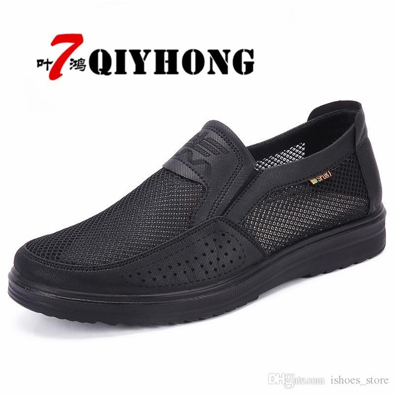 ab56e713 Compre Zapatos De Hombre 2018 Nuevas Llegadas Moda Malla Ligera Transpirable  Zapatos Krasovki Hombres Tenis Masculino Adulto Hombres Casual # 36480 A  $60.79 ...