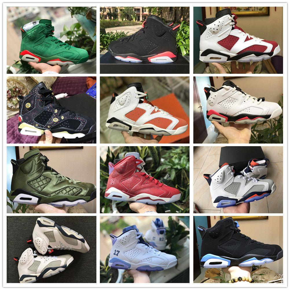 afd98c6cd8c 2019 2019 6 Black Infrared Carmine Gatorade 6s All Atar CNY Mens Basketball  Shoes Maroon Saturday Night Live Retro SLAM DUNK Jumpman Sneakers From ...