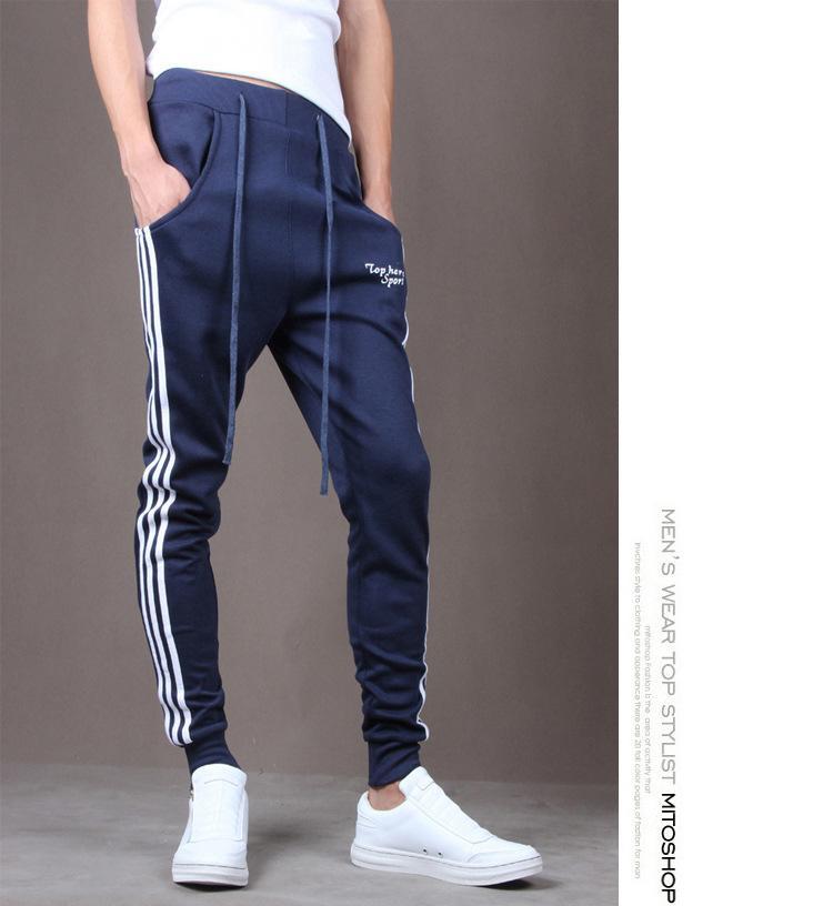 13d92cea0 2019 2019 Jogger Pants Sports New Brand Mens Joggers Casual Harem  Sweatpants Sport Pants Men Gym Bottoms Track Training Jogging Wholesale  From Hczg9, ...