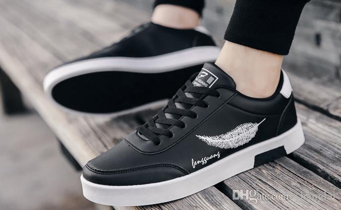 d27e9b9af Compre 2019 Arder Sapatos Masculinos Na Primavera E No Outono Com O Novo  Estilo De Fundo Plano Rodada Cabeça Sapatos @ 31 De Changlai, $33.51 |  Pt.Dhgate.