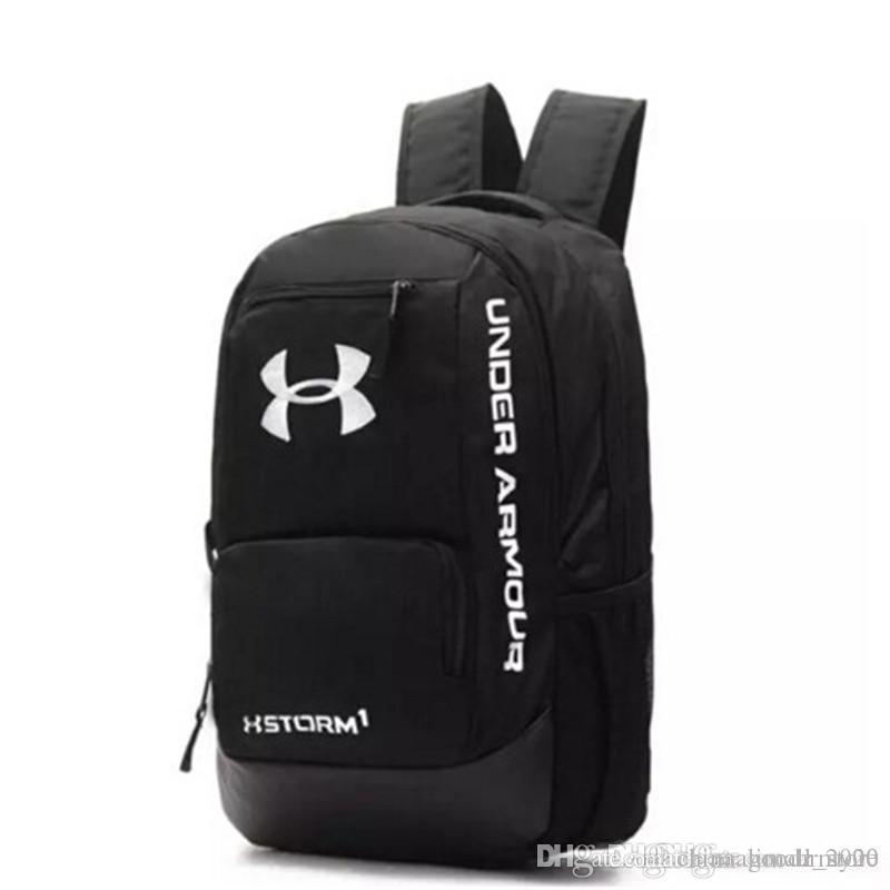 2f9c26a84d37 2018 Hot sale UA Backpack Casual Hiking Camping Backpacks Waterproof Travel  Outdoor Bags Teenager School Bag Makeup Bags DHL Shippin