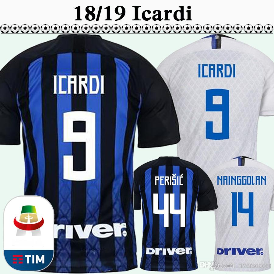 721551a4b 2018 19 ICARDI PERISIC Mens Soccer Jerseys BROZOVIC SKRINIAR Home Aawy  Football Shirts Top Quality EDER Maglia Da Calcio Uniforms ICARDI Soccer  Jersey ...
