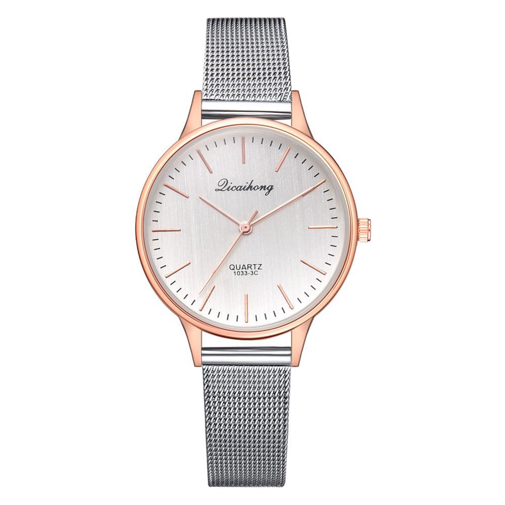 37cb6ab65e081 Satın Al Kadın Saatler Bayan Kol Saati Moda Gül Altın Gümüş Kadınlar Için  Lüks Bayanlar Izle Reloj Mujer Saat Relogio Zegarek Damski, $34.33 |  DHgate.Com'da