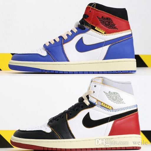 14bca67b693 2019 New Union X 1s High OG NRG Mens Basketball Shoes Top Quality ...
