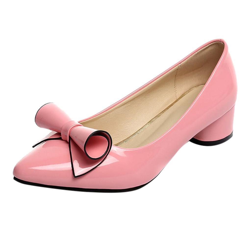 ae37fcebde Compre Sapatos De Vestido Muqgew Mulher De Salto Alto Sexy Lady Moda ...