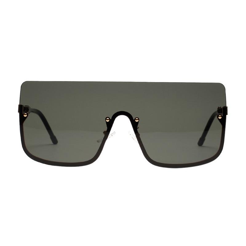 1adbc03d92 Compre Escudo De Gran Tamaño Sexy Gafas De Sol Retro Cuadrado Claro ...