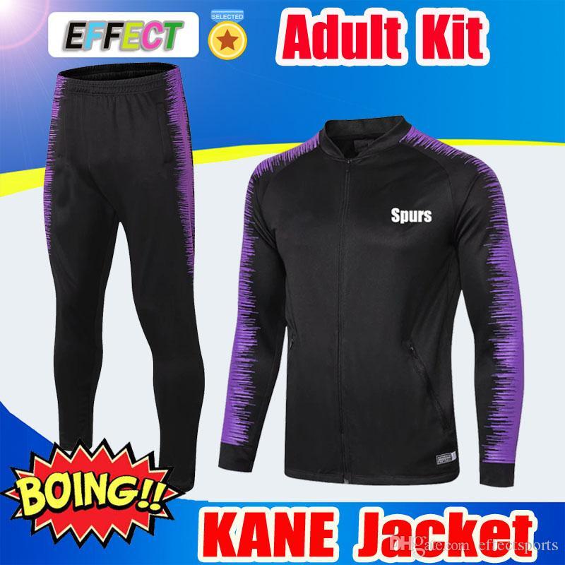 78282a778 2019 2019 KANE Full Zipper Jacket Kit 18 19 20 Maillot De Foot Long Sleeve  ERIKSEN DELE Pants Tracksuit Soccer Jacket Sweater Training Jacket From ...