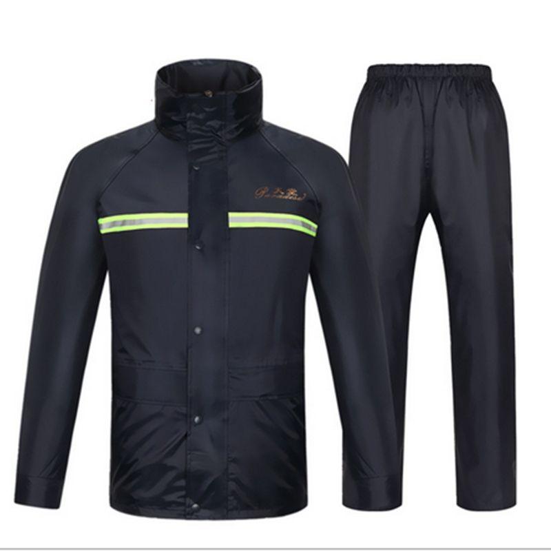 aa6e756c7 Nuevo Impermeable, pantalones de lluvia, motocicleta impermeable,  impermeable, poncho, tamaño de la tabla, ropa de gran tamaño, impermeable,  ...