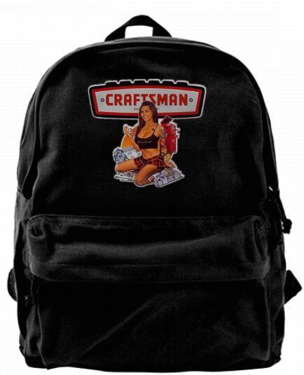 fb9424830c Craftsman Tools Pin Up Girl Fashion Canvas Designer Backpack For Men ...