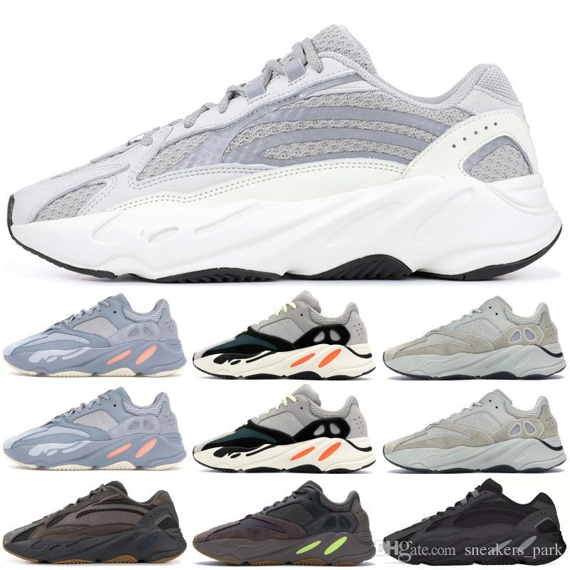 2019 Static 700 Wave Runner Laufschuhe Männer Frauen Salz Mauve Inertia 700 V2 Kanye West Designer Schuhe Sport Turnschuhe Mit Box