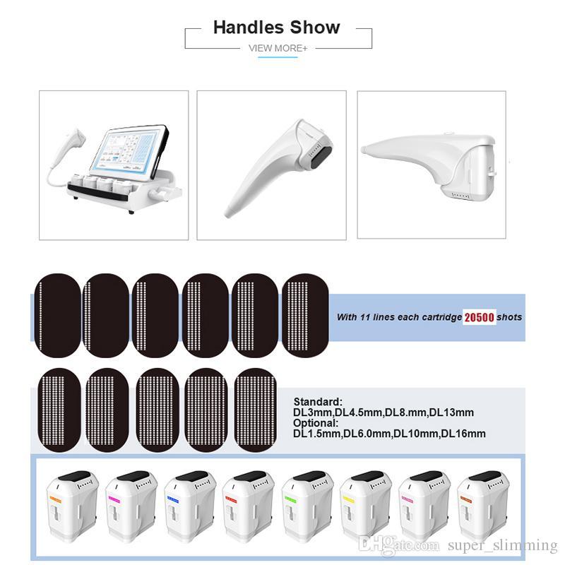 3d hifu focalisé sur la machine à ultrasons hifu prix de la machine en gros 2D / 3D HIFU focalisé sur le lifting professionnel à ultrasons