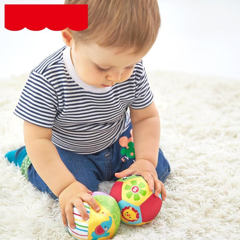 Animal Cognition Ball Soft Stuffed Toy Infant Babies Rattle Kids Education Hand Catching Wear Resistant 8ly F1