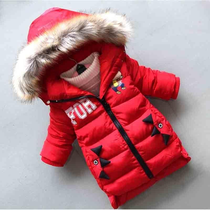 5d82cc1c56db Good Quality Baby Boy Parka Winter Coat Fashion Long Section Winter ...