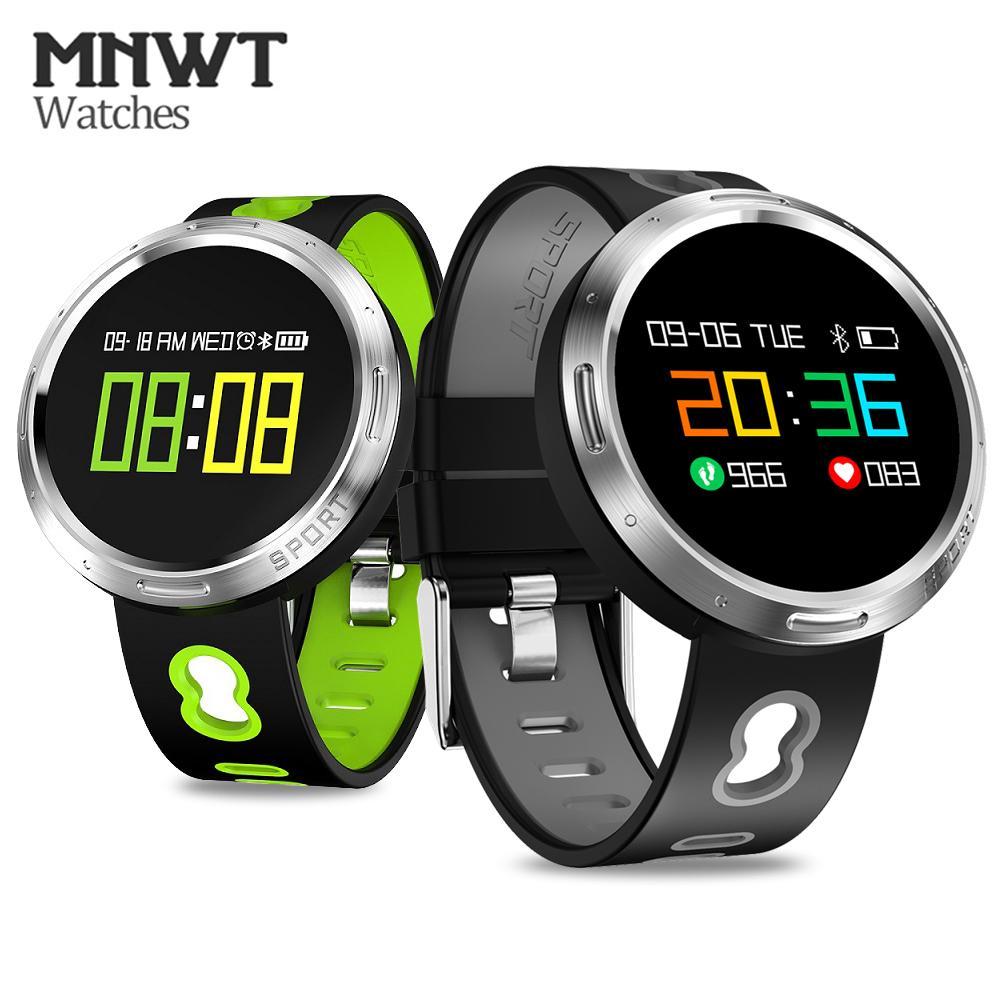11d4220c00f4 Compre MNWT Relojes Inteligentes Pulsera IP68 Impermeable Fitness Podómetro  Salud Deporte Reloj Inteligente Bluetooth Reloj Hombres Mujeres Para IOS  Android ...