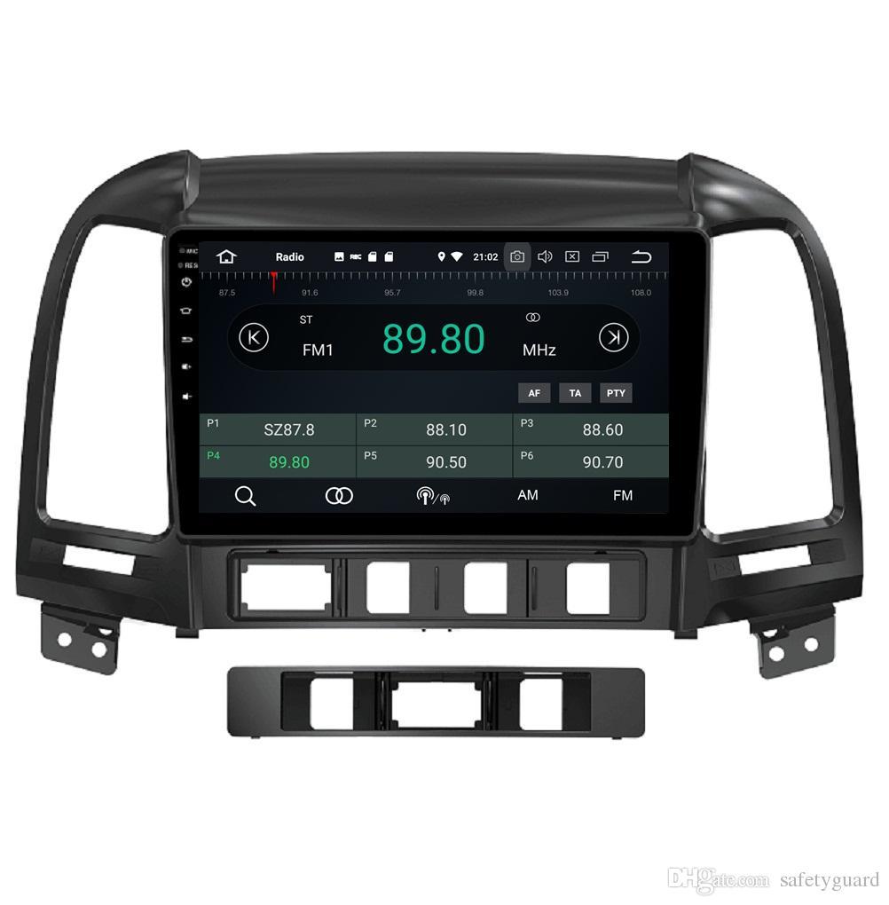 4GB 64GB PX5 9 Android 8 0 Car DVD GPS Glonass Head Unit for Hyundai Santa  Fe 2006-2012 RDS Radio Bluetooth WIFI Mirror-link