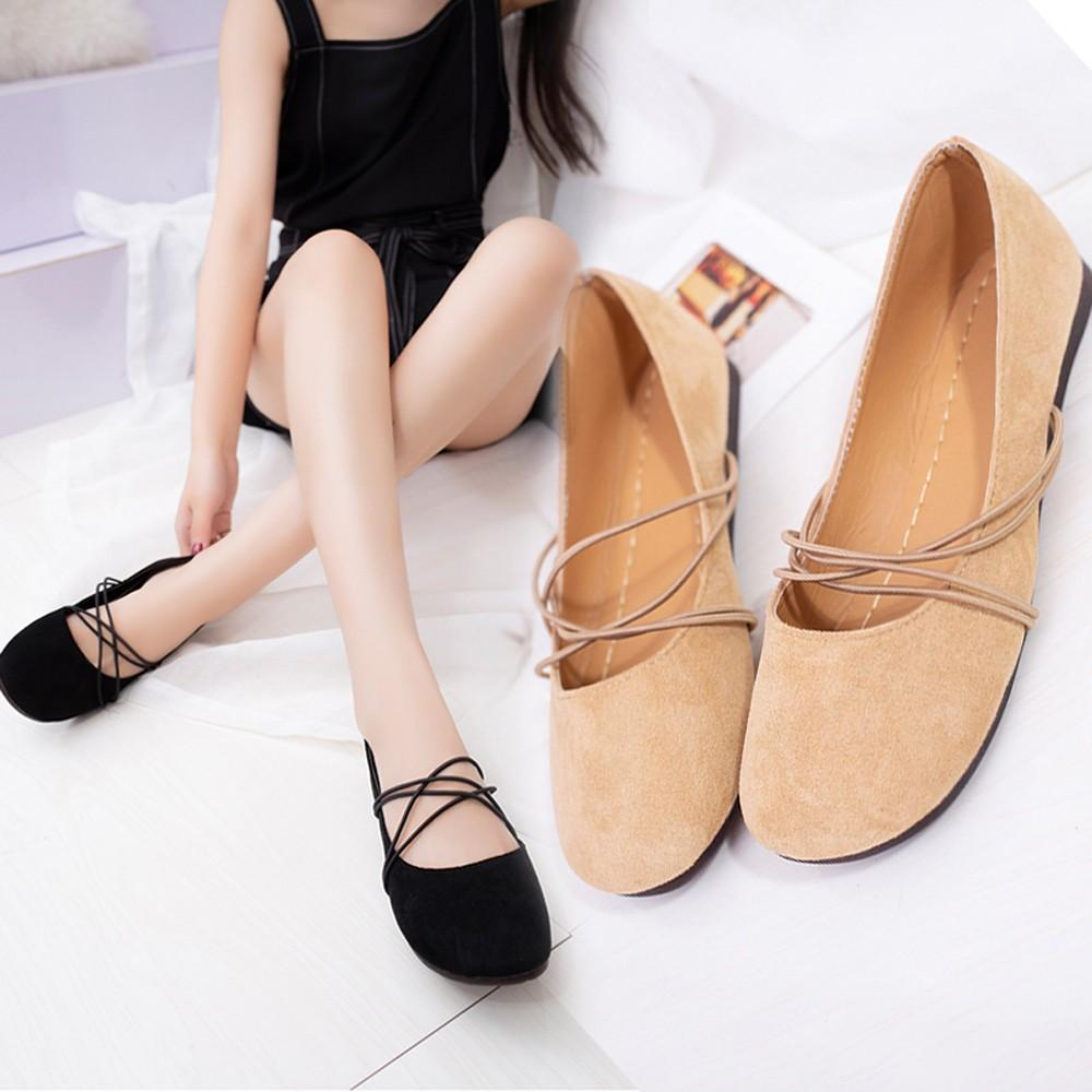 43fd705b42f Compre Zapatos De Vestir De Diseñador Zapatos Mujer Tacón Bajo De Verano  2019 Mujeres Shallow Slip On Heel Round Toe Ocio Individual Zapatillas  Mujer   7 A ...