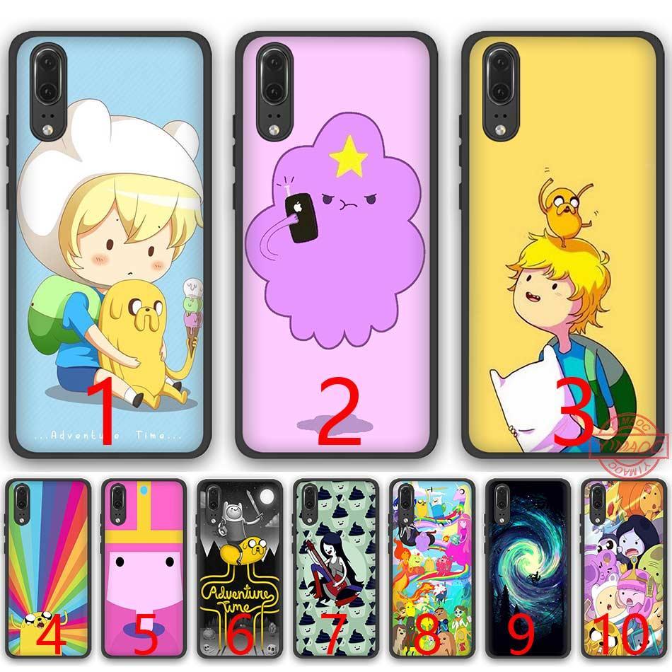 watch f75b7 b0524 Adventure Time Lumpy Space Princess Soft Silicone Black TPU Phone Case for  Huawei P8 P9 P10 P20 Lite Pro P Smart Cover