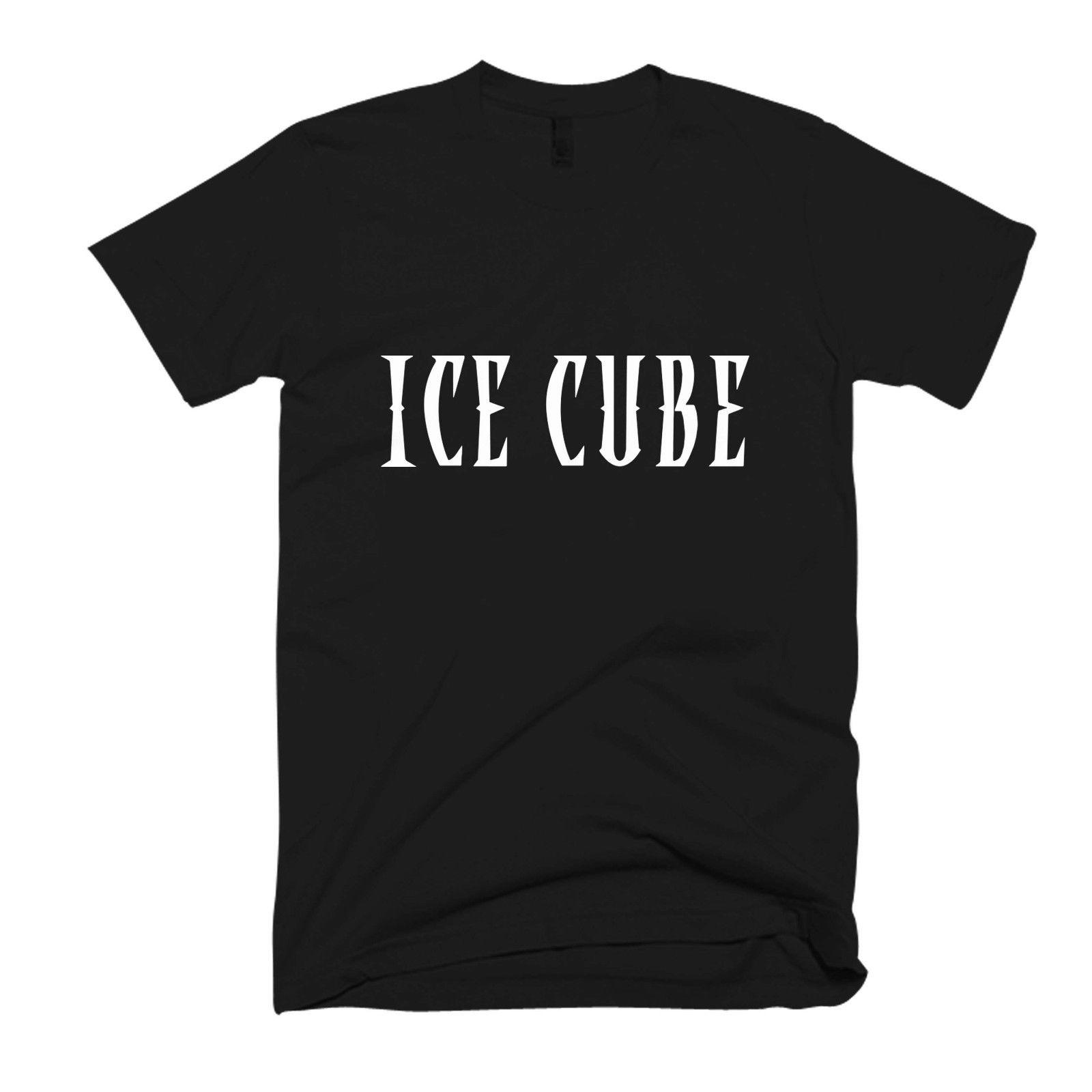 Ice Cube Logo Men s / Women s T Shirt Funny free shipping Unisex Tshirt top