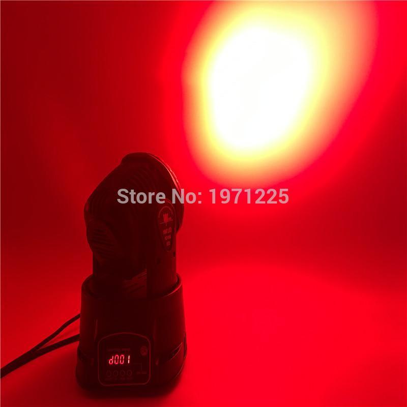 4 unids / lote Flight Case avanzado dj luces de cabeza móvil led lavado mini 7x12 canales rgbw quad con avanzado 14 canales