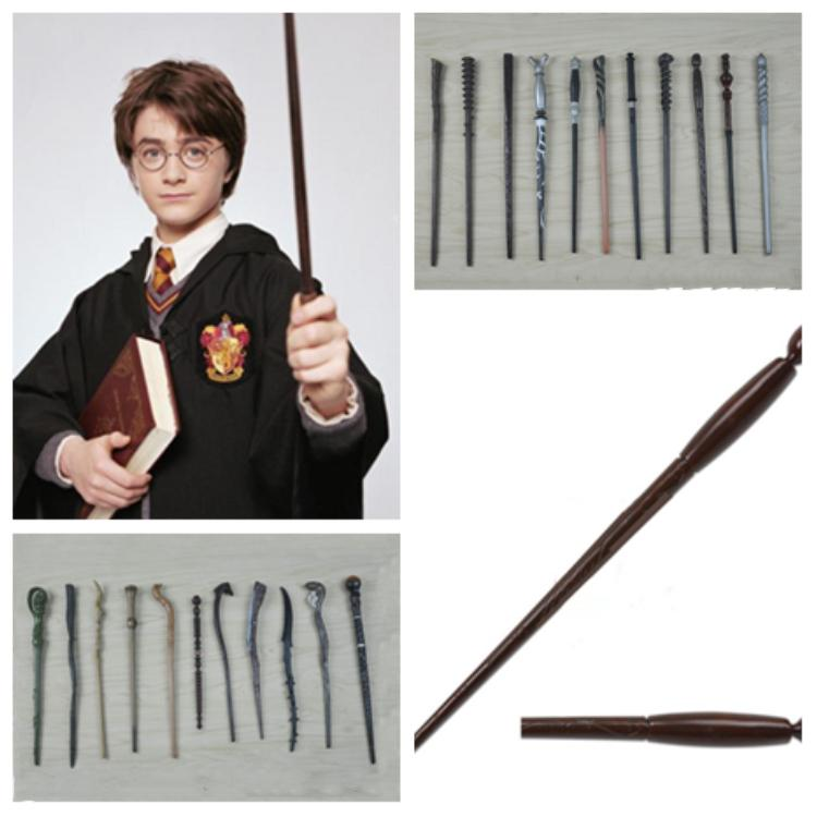 new Harry Potter Magic Wand Cosplay wands Granger Role Play Resin Harry Potter Magic Wands toy Party Supplies T2I5260