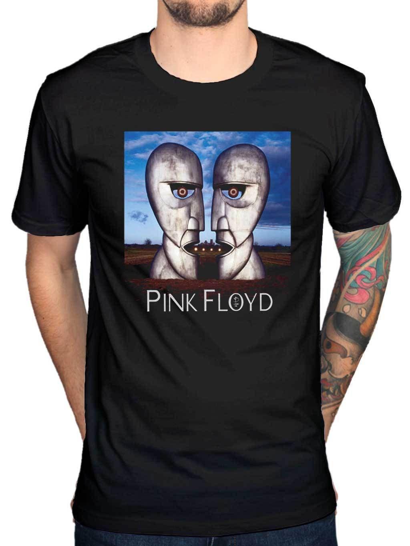 Oficial Mujeres Moda Camiseta Rock De Floyd The Bell Punk Of Dark Moon Unisex Pink Hombres Heads Side Division Y9WEDIH2