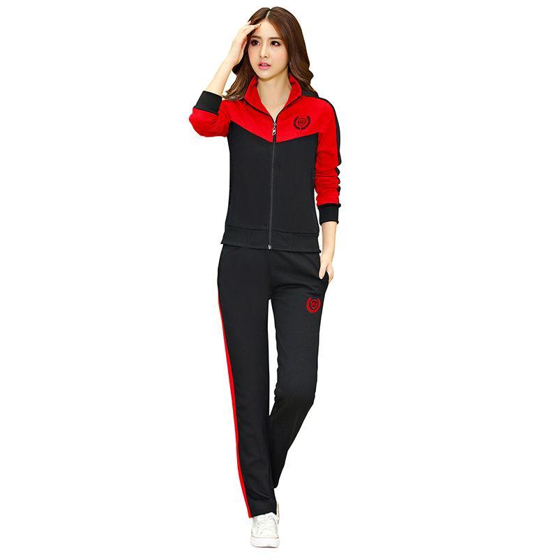 175cbae0108 Купить Оптом Женщины 2 Шт.   Компл. Открытый Работает Спортивный Костюм  Работает Спортивная Одежда Набор 95 Отyangmeijune В Категории Набор Одежды  Для Бега
